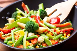 Spicy Garlic Vegetable Stir-Fry
