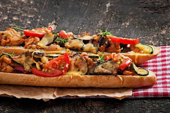 recipe_roasted vegetables_baguette