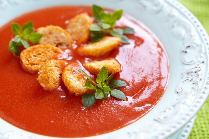 Classic garlic and tomato soup recipe