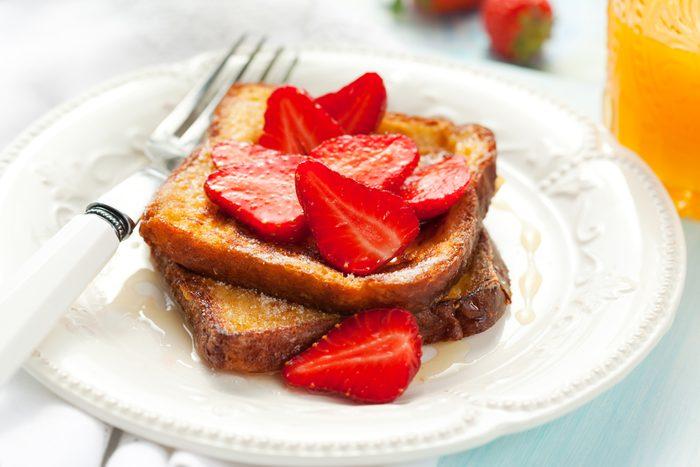 strawberry toast
