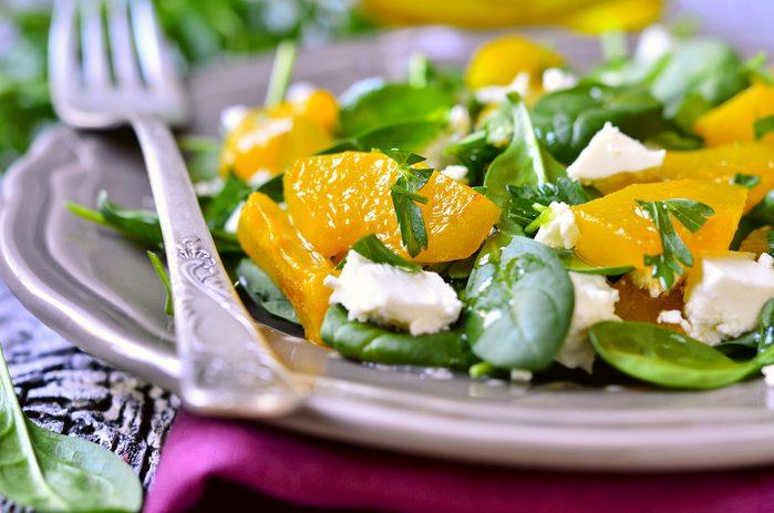spinach salad_always tired