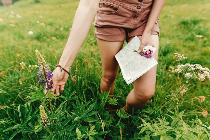 summer health hazards 02_woman in field