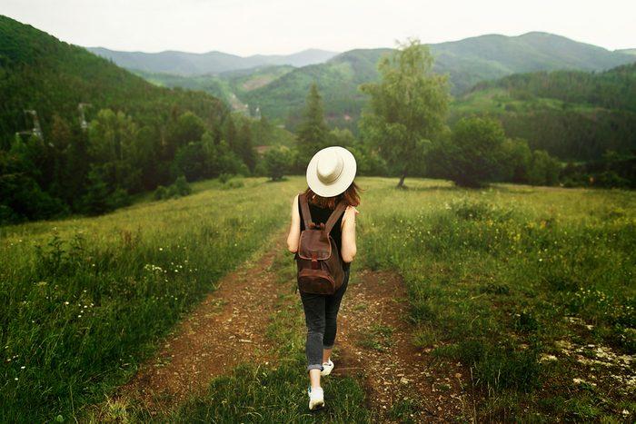 summer health hazard_woman walking