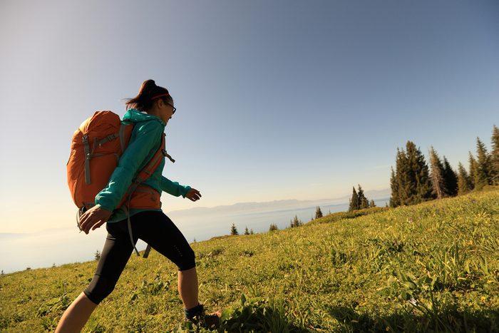 summer health hazards 5_woman hiking