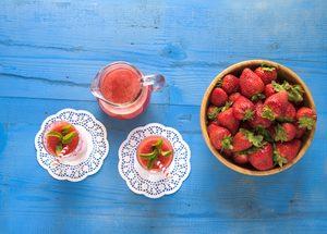 The Best Healthy Strawberry-Yogurt Smoothie