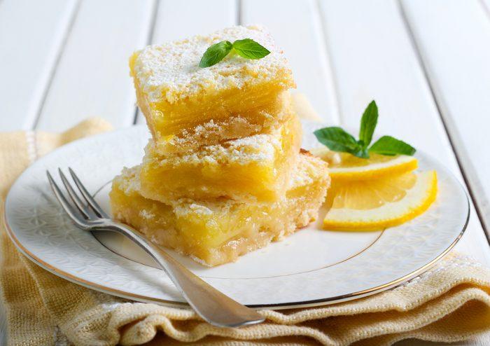 Lovely Lemon Squares   citrus recipes