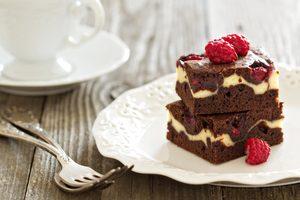 Cream Cheese Raspberry Brownies