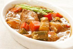Vegetable & Pork Coconut Curry