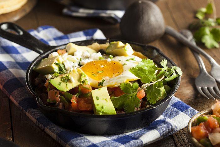 Egg Tacos with Avocado Sauce   egg recipes