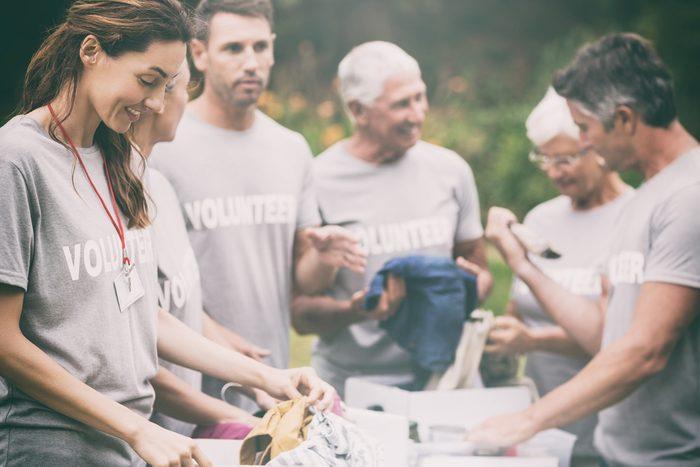 mental health facts _woman volunteering