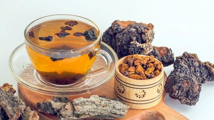 health benefits of herbal tea chaga
