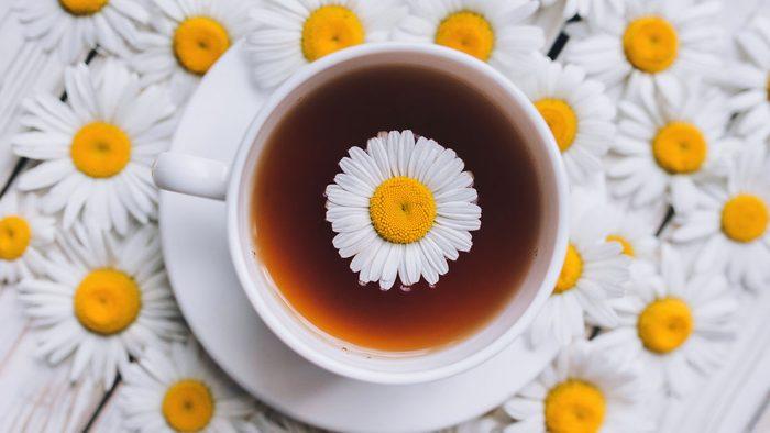health benefits of herbal tea chamomile