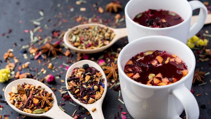 health benefits of herbal tea raspberry leaf