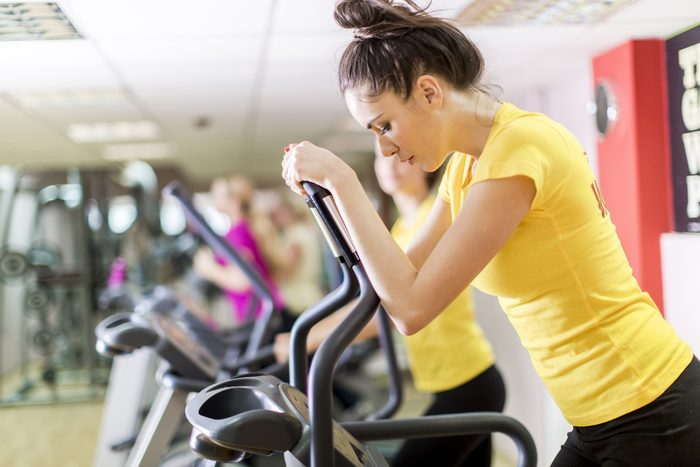 kick-start your weight loss_ woman at gym