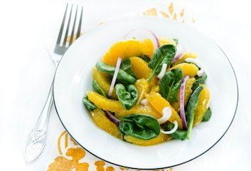 spinach citrus salad