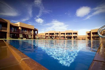 The destination: Red Mountain Resort in St. George, Utah