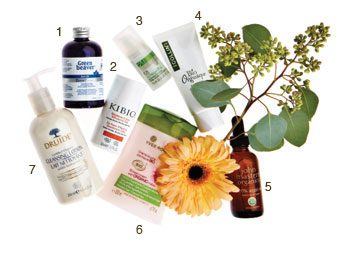 Certified organic beauty products