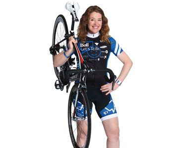 Clara Hughes on the 'Ride' of her life