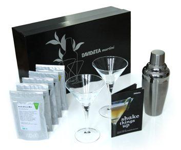 David's Tea martini kit