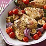Herb Baked Chicken & Vegetables