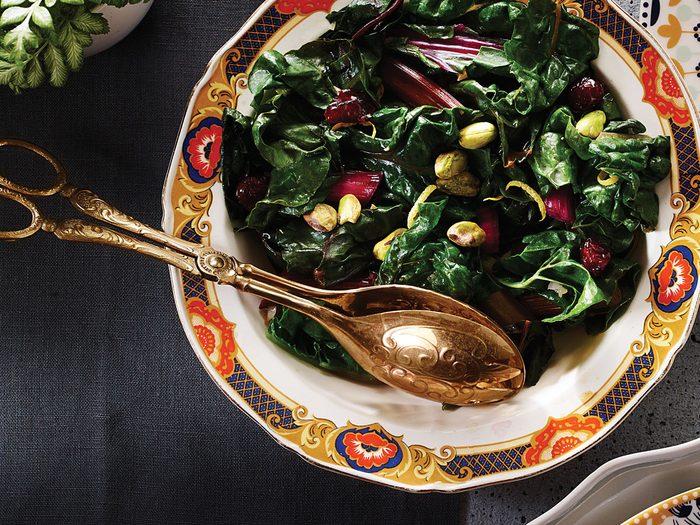 lemony rainbow chard   citrus recipes