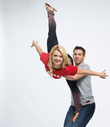 Kirsten Moore-Towers, 21; and Dylan Moscovitch, 29; both Waterloo, Ont.