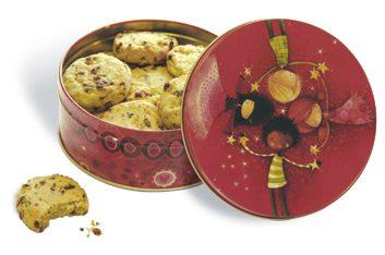 NBC cookie tins