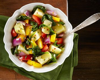 Healthier Potato Panache