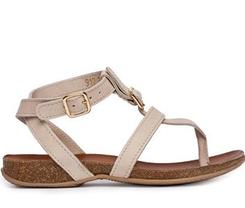 Roots leather sandals, $108