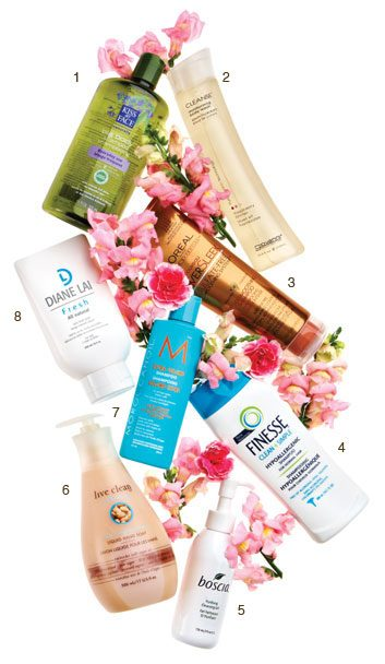 Sulfate free beauty products