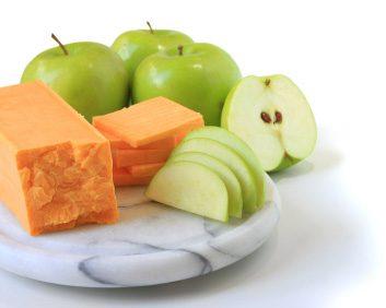 apples cheddar