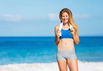 The beach-ready workout