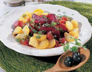 Spicy Root Vegetable Salad