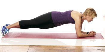 5. Plank twist for flat abs