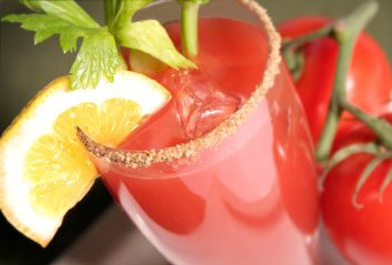 bloody caesar cocktail alcohol