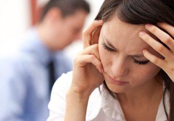 sad stress depression