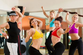 Burlesquercise fusion fitness dance