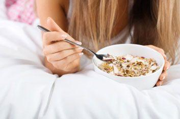 healthy breakfast diet cereal