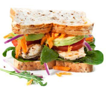 Chicken Guacamole Sandwich