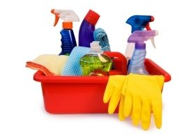Clean up or clear out