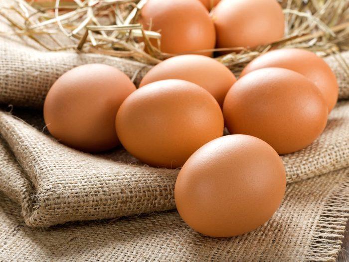 Eat Eggs for Shiny Hair