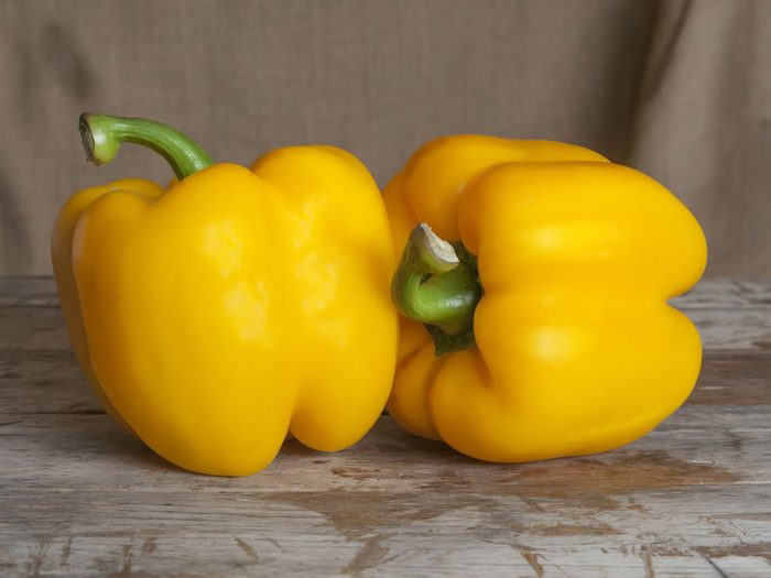 Eat Yellow Peppers for a Radiant Complexion