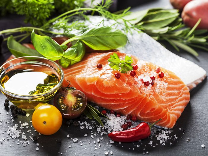 Eat Fatty Fish for Head-to-Toe Glow