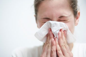 cold and flu germs