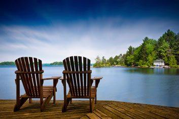 cottage lake