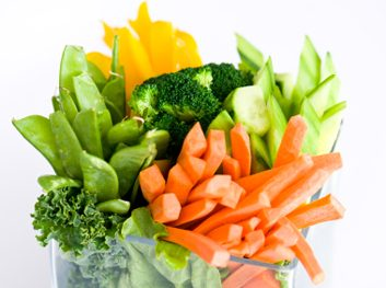 veggies and dip crudites