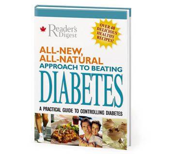 All Natural Diabetes book