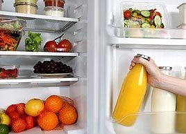 Inside a dietitian's fridge