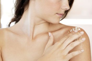 skin beauty exfoliate