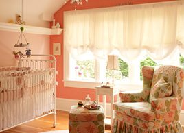 Decorating baby's room: How to make a small nursery appear larger